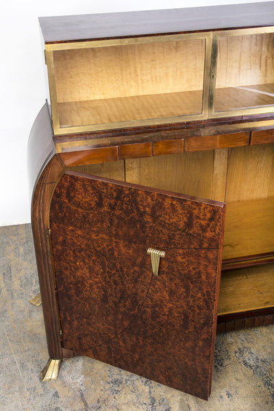 Exquisite Art Deco Sideboard Dresser By Roger Bal - Art Deco Antiques  - 4