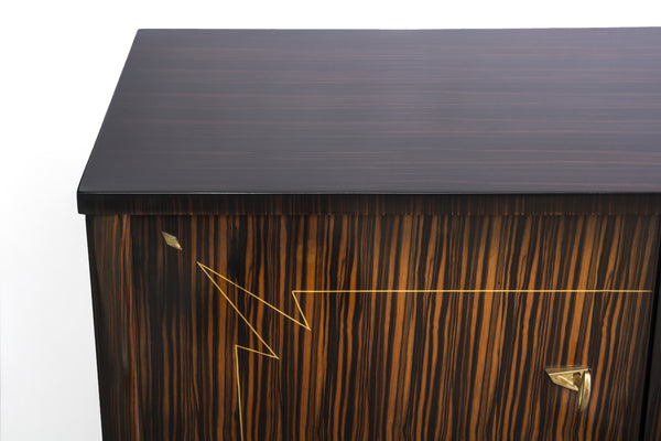 Macassar ebony furniture