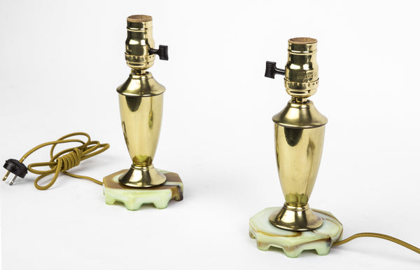 Beautiful Pair Of Art Deco Up-Lights