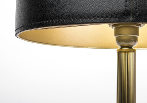 Stunning 1940's Brass Table Lamp Attributed to Adnet
