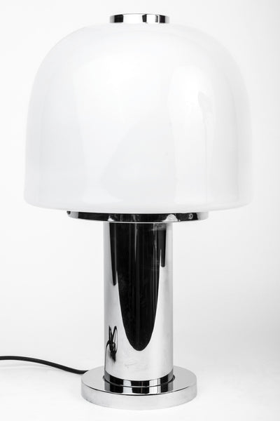 Italian Pop Art Lamp Chrome 1960s Martinelli Luce Era Mid Century Modern