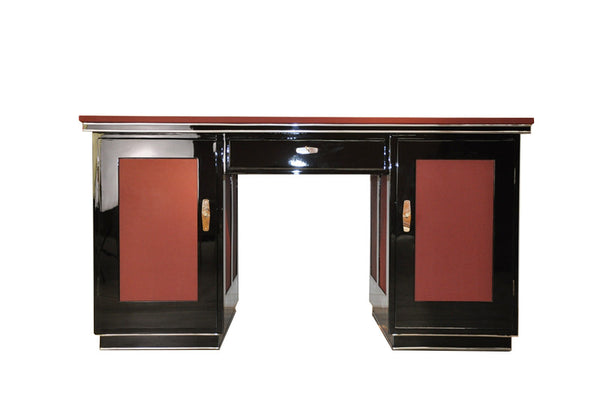 Gorgeous French Art Deco Desk - Art Deco Antiques