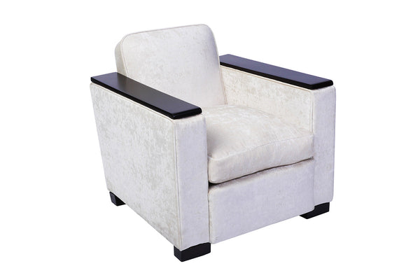 Jacques Adnet Club / Armchair - Art Deco Antiques  - 3