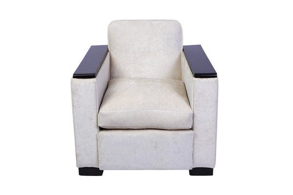 Jacques Adnet Club / Armchair - Art Deco Antiques  - 2