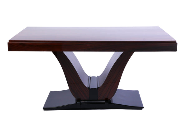 Magnificent French Art Deco Rosewood Dining Table - Art Deco Antiques  - 2