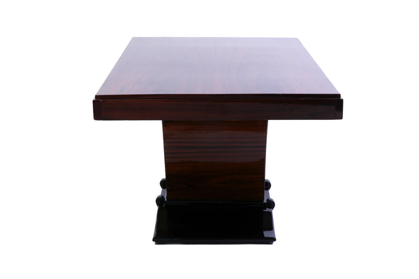 Magnificent French Art Deco Rosewood Dining Table - Art Deco Antiques  - 4