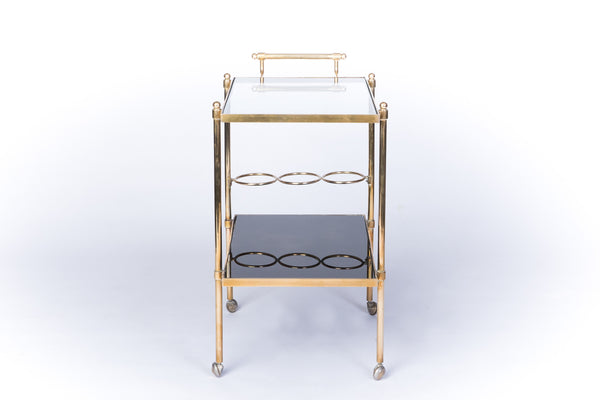 Stunning French Mid-Century Modernist Bar Cart