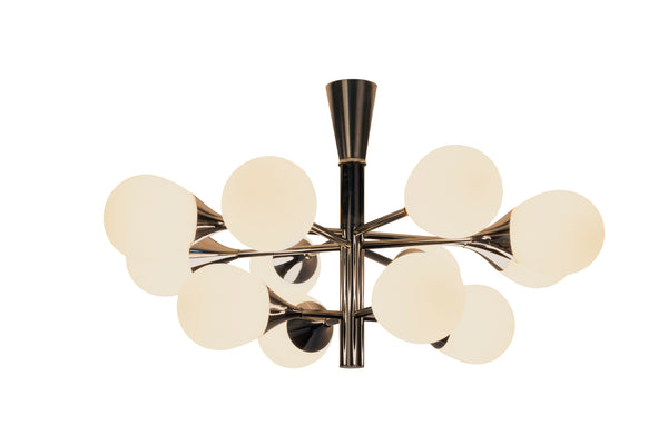 Exceptional Orbital Form Sputnik Chandelier