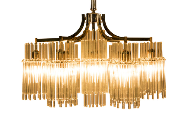 Exceptional Chandelier Pendant By Palwa