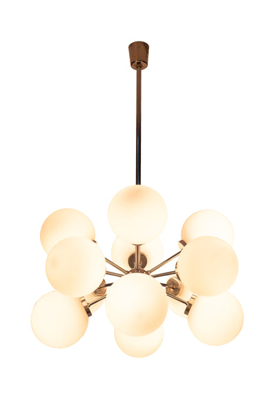 Gorgeous Mid-Century Modernist Chandelier By Richard Essig