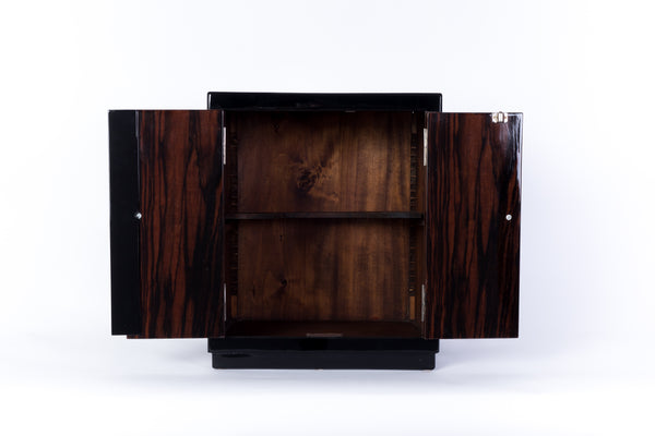 ... Captivating French Art Deco Bar Cabinet ...