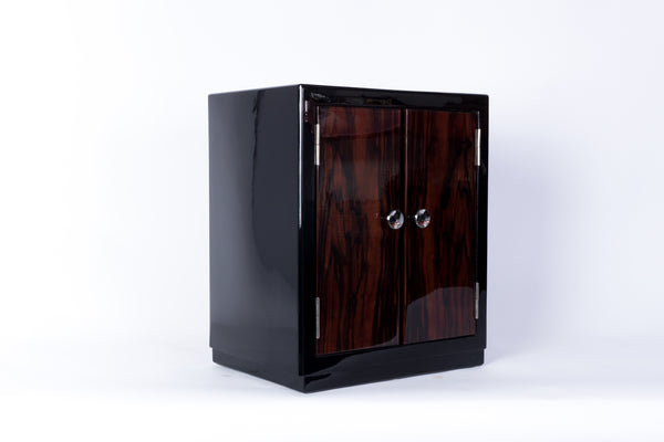 Captivating French Art Deco Bar Cabinet