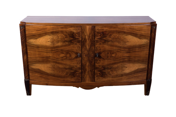 Art Deco Walnut Buffet / Sideboard