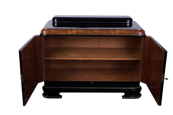French Art Deco Burl Buffet / Sideboard