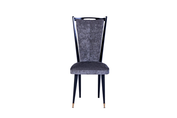 Stylish Set Of 6 Art Deco Dining Chairs