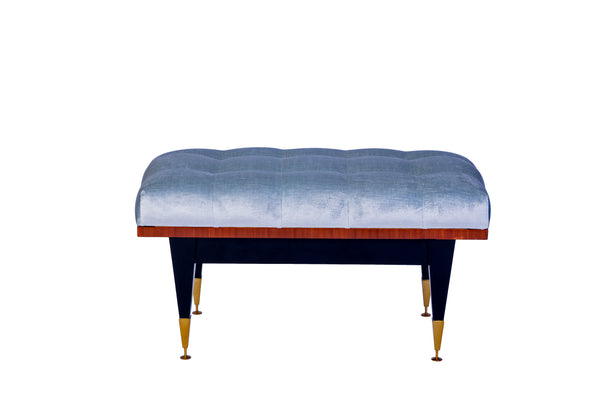Petit French Art Deco Sitting Bench