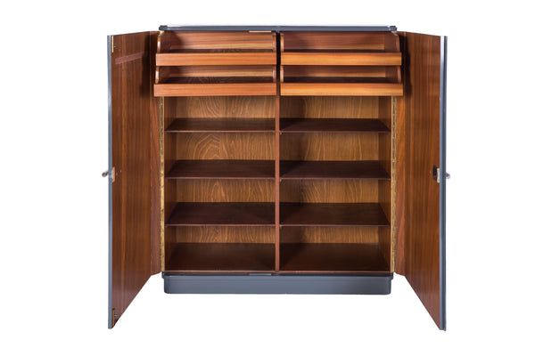 Marvelous 1940's Art Deco Cabinet