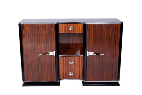 Exquisite 1930's French Art Deco Sideboard