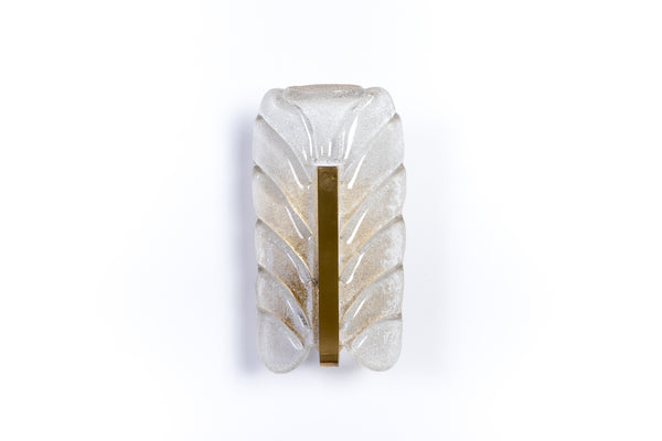 Exquisite Mid-Century Modernist Sconce By Carl Fagerlund For Orrefors