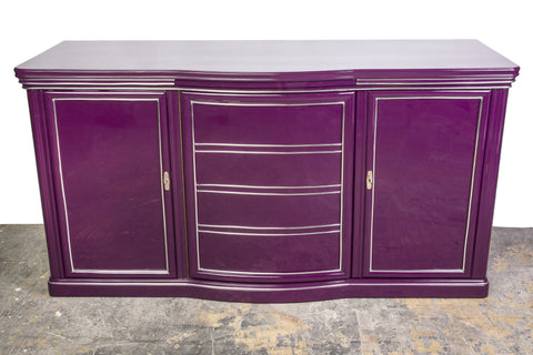Exceptional Art Deco Sideboard In Liliac - Art Deco Antiques  - 1