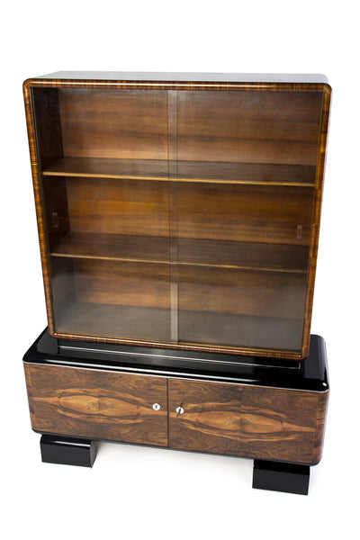 Magnificent Art Deco Display Case - Art Deco Antiques  - 1
