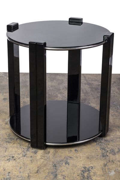 Gorgeous Art Deco Sidetable - Art Deco Antiques  - 1