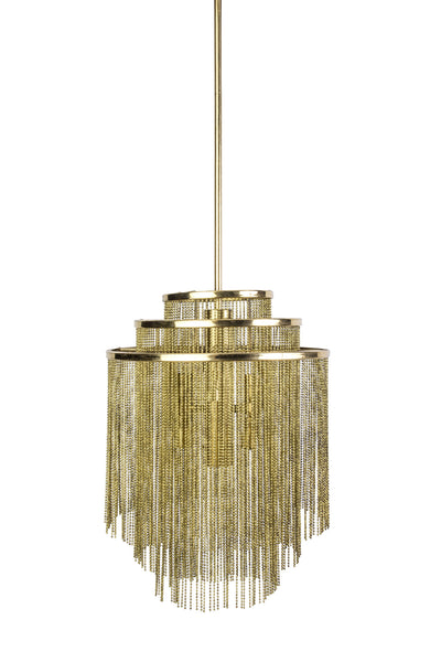 Magnificent 1960's Mid-Century Modernist Kinkeldey Chandelier - Art Deco Antiques  - 1