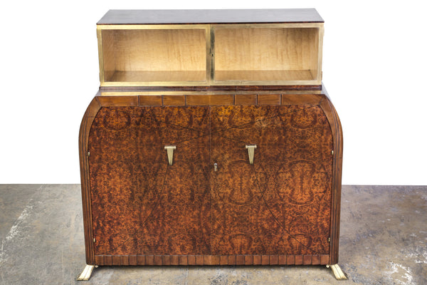 Exquisite Art Deco Sideboard Dresser By Roger Bal - Art Deco Antiques  - 1