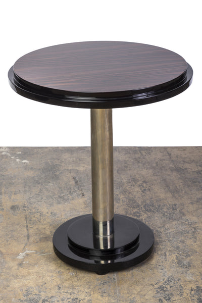 Beautiful Streamline Macassar Art Deco Occasional / Side  Table - Art Deco Antiques  - 1