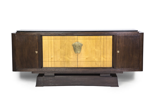 Magnificent Museum Quality French Art Deco Buffet / Sideboard by Alfred Porteneuve - Art Deco Antiques  - 1