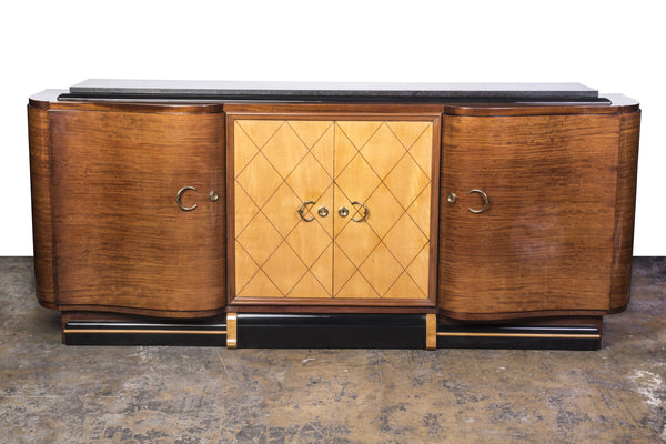 Grand French Art Deco Credenza / Buffet - Art Deco Antiques  - 1