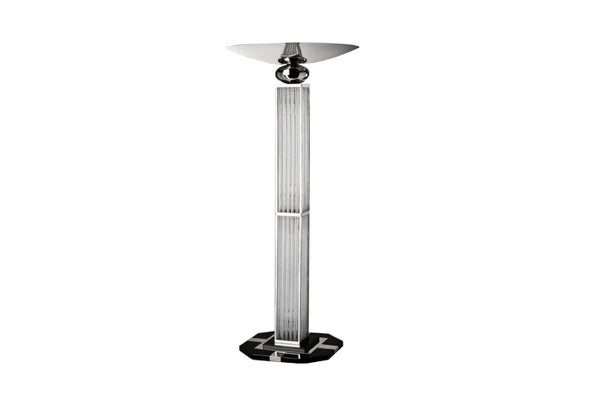 Elegant Streamlined Art Deco Design Torchiere - Art Deco Antiques