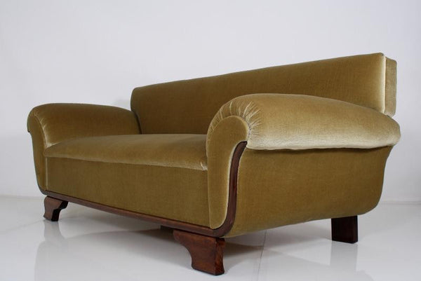 Magnificent French Art Deco Chaise / Sofa - Art Deco Antiques  - 1