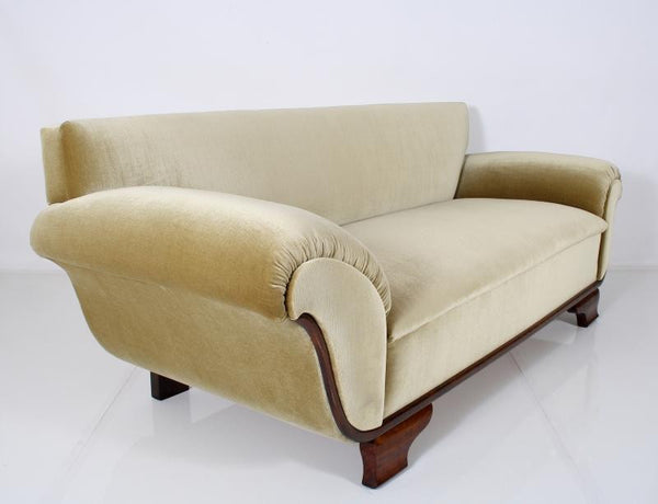 Magnificent French Art Deco Chaise / Sofa - Art Deco Antiques  - 2