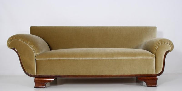 Magnificent French Art Deco Chaise / Sofa - Art Deco Antiques  - 5