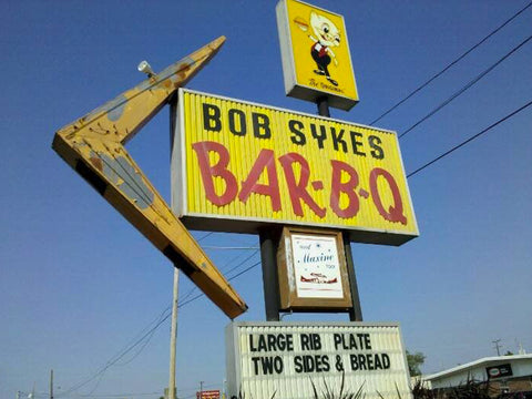 Bob Sykes Bar-b-q - NCAA Hats at Cowbucker
