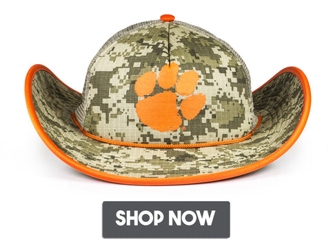 Clemson University Tigers Hat NCAA College Football ACC