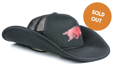 The Arkansas Razorbacks Black Bucker