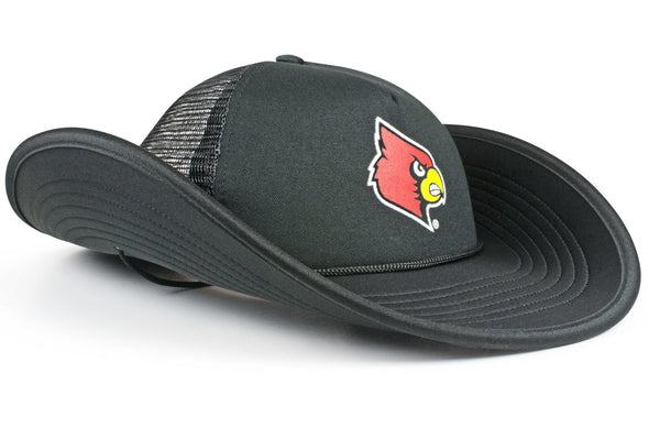 The Louisville Cardinals Black Bucker