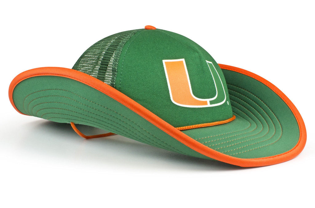 The Miami Hurricanes Green Bucker