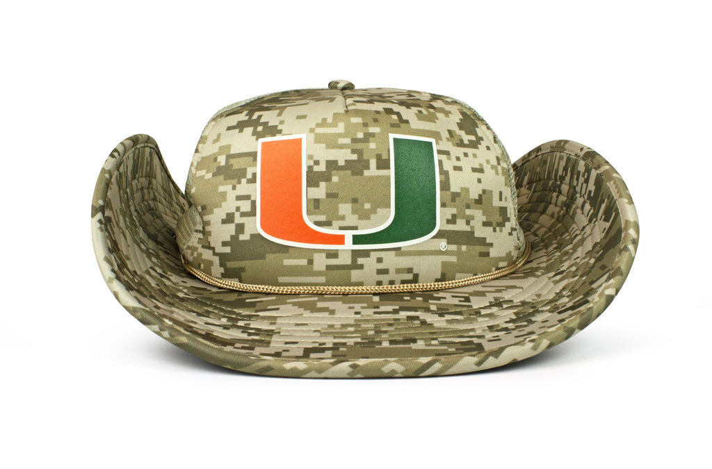 The Miami Hurricanes DigiCamo Bucker