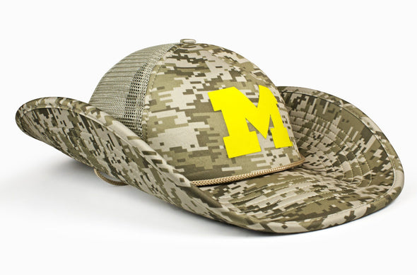 The Michigan Wolverines DigiCamo Bucker