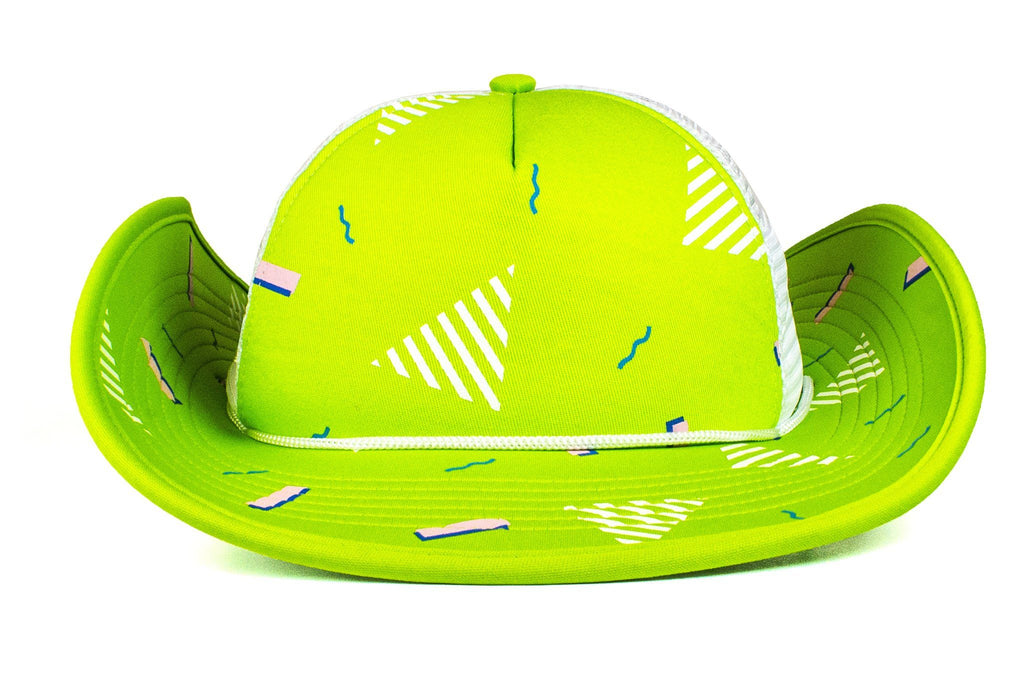 The 90s Neon Green Confetti Party Bucker