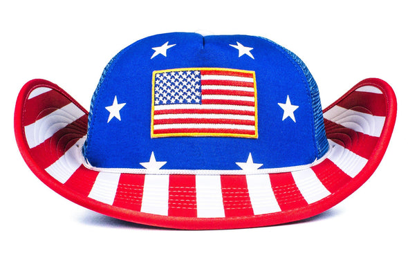 The Stars and Stripes American Flag Bucker