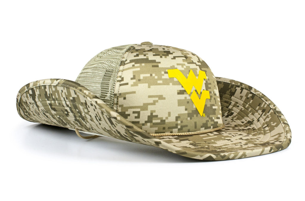 The West Virginia Mountaineers DigiCamo Bucker