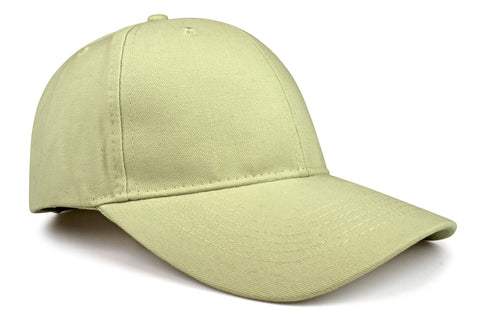 Brushed Cotton Hook-and-Loop Cap (101C)