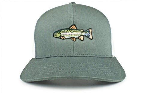 d8e8781d394b0 Rainbow Trout Trucker Hat
