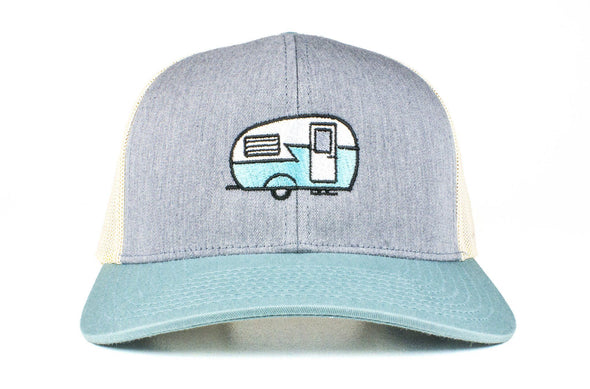 The Canned Ham Vintage Camper Trucker Hat