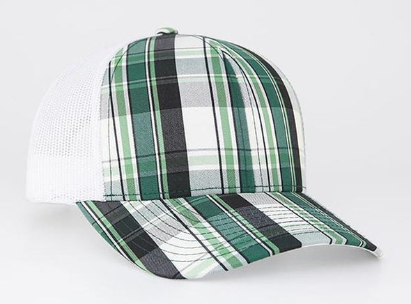 Plaid Snapback Trucker (109C - PH)