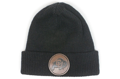 The Colorado Buffaloes Black Beanie